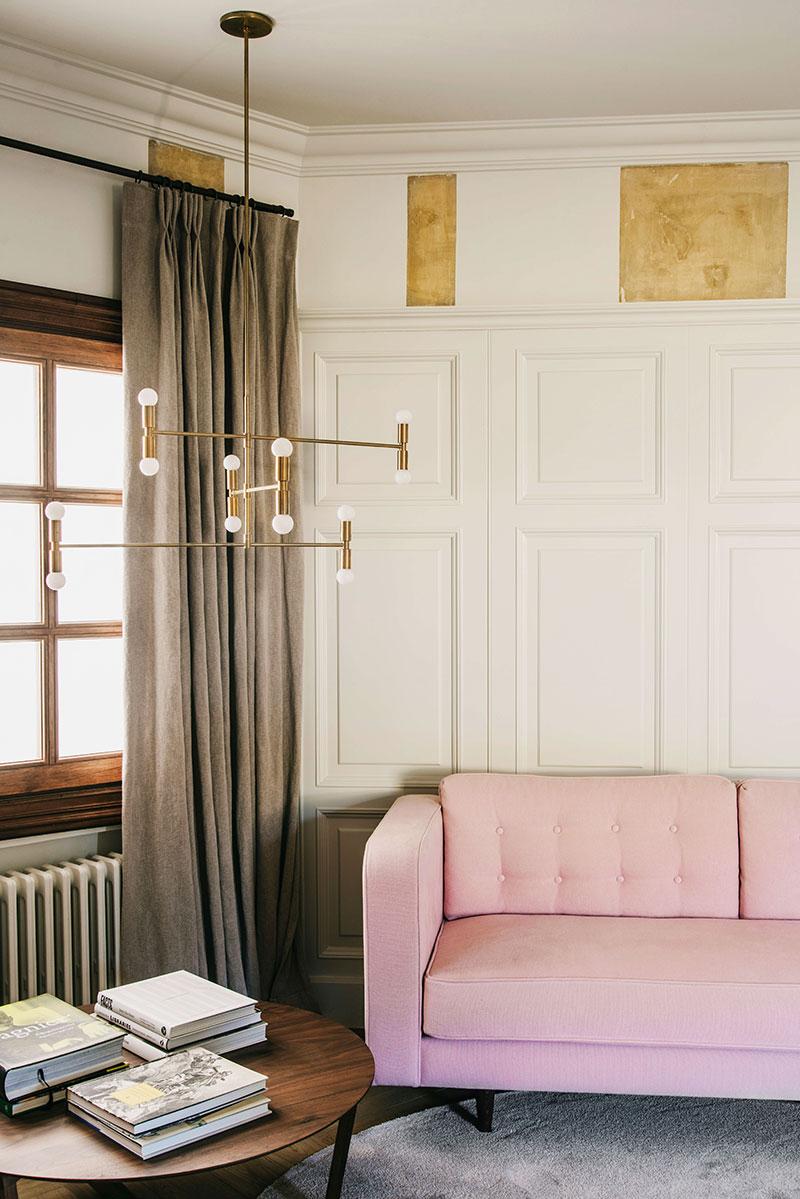 элегантный интерьер квартир