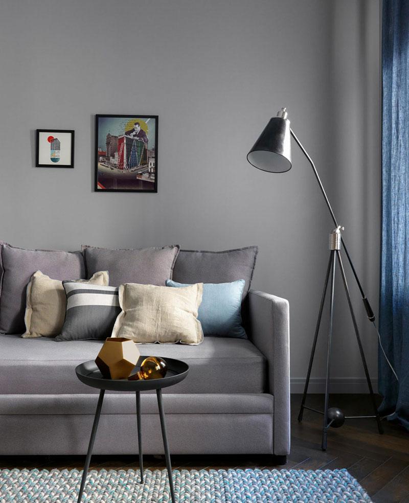 темные тона интерьера квартир фото