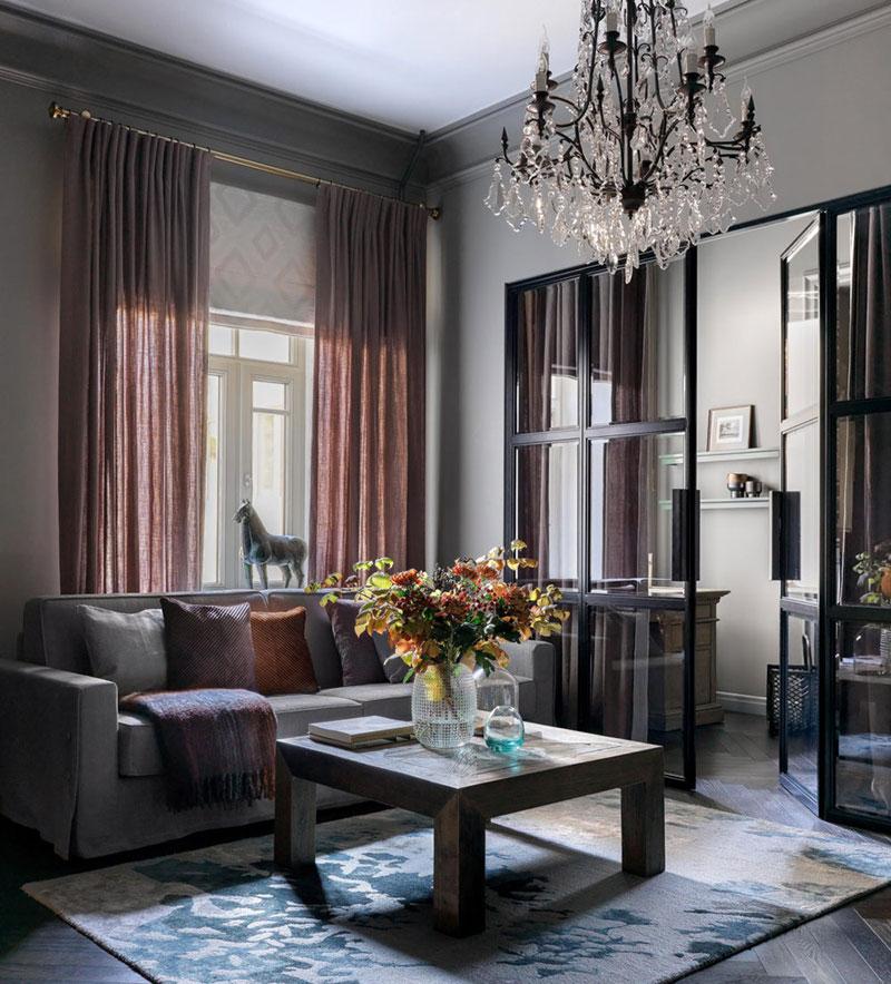 элегантная квартира в москве