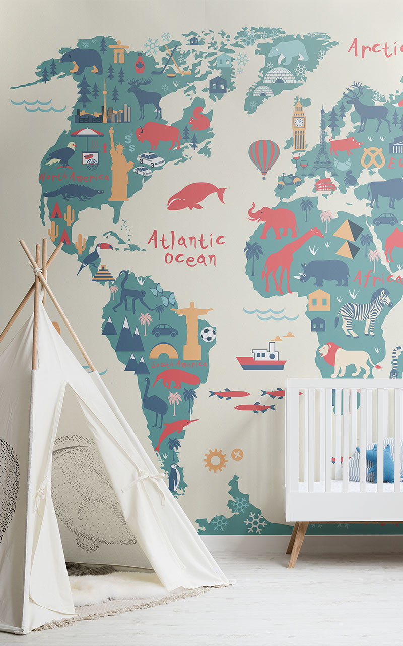 Fantastic Wonderful Kids Room Wallpapers By Mural Wallpapers Download Free Architecture Designs Embacsunscenecom