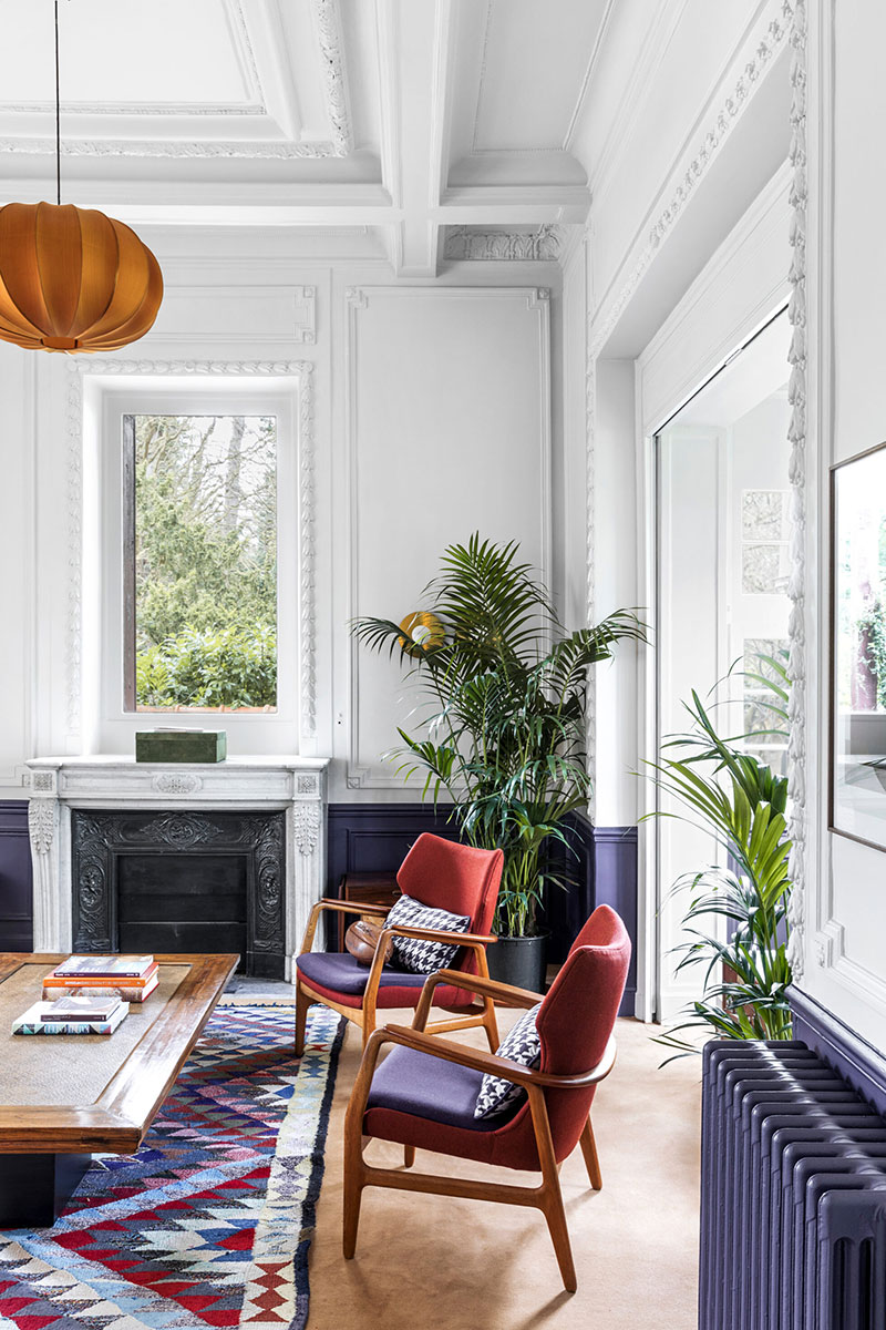 квартира в париже фото интерьера