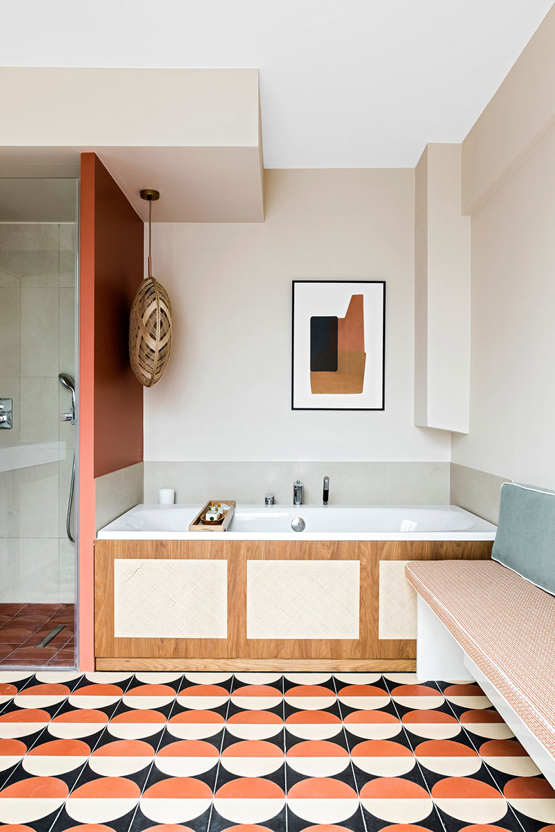 интерьер квартира в париже