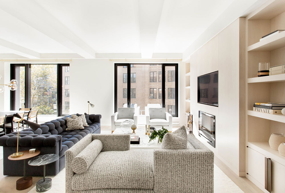 Exquisite Modern Interior Apartments In The Heart Of New York