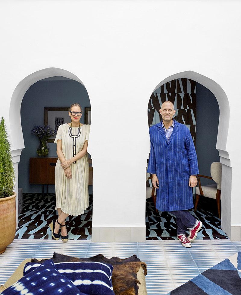 дома в марокко интерьер