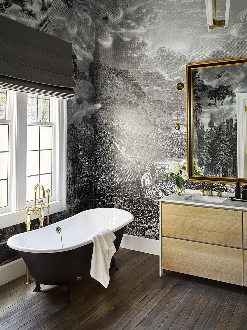 изысканный дизайн интерьера дома