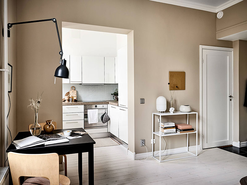 маленькие квартиры в стиле скандинавском стиле