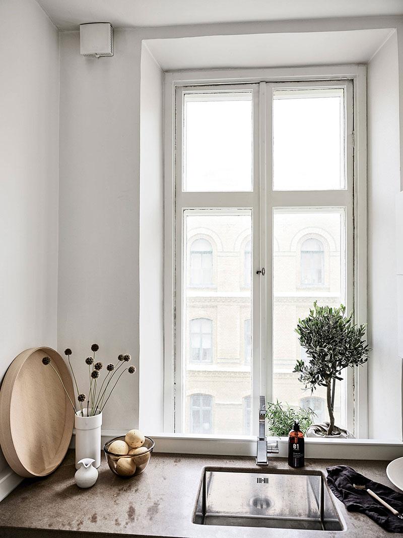 скандинавский стиль в интерьере кухни малогабаритных квартир фото