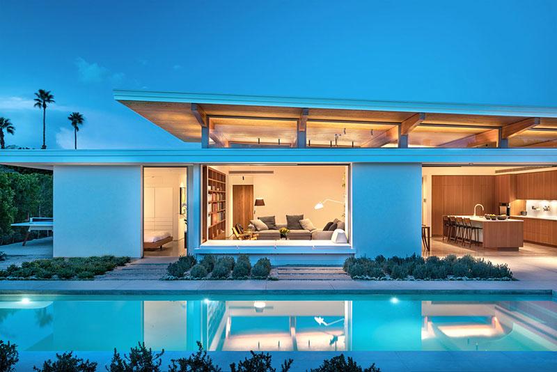 современные дома калифорнии