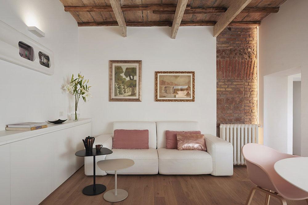 римский стиль в интерьере квартиры