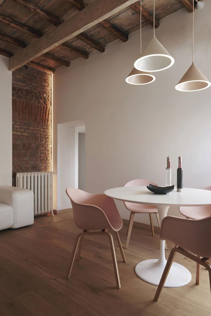 интерьер римской квартиры