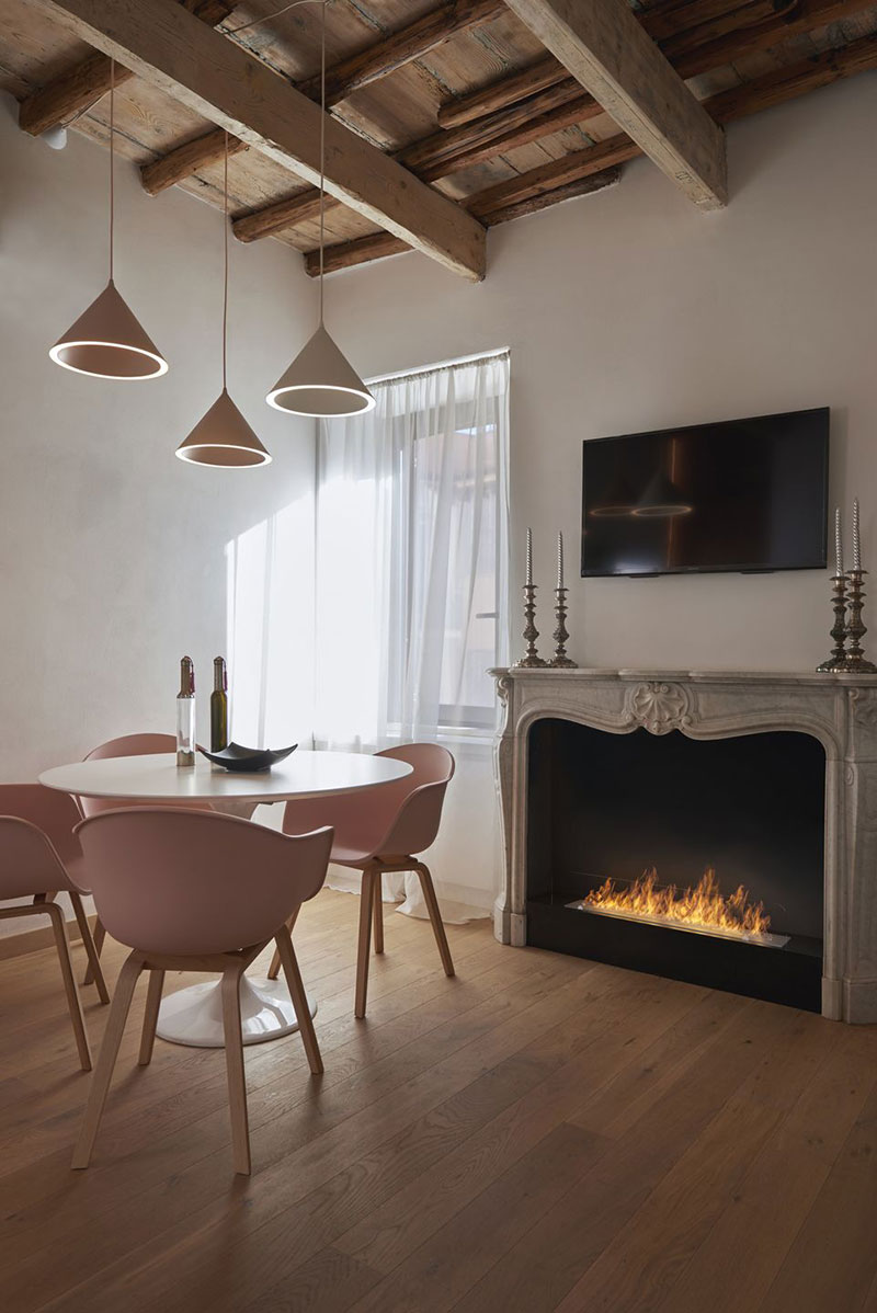 римский стиль в интерьере квартиры фото