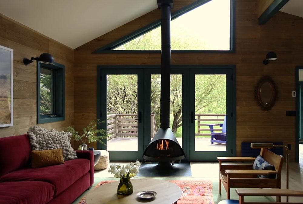 деревянные необычные дома фото
