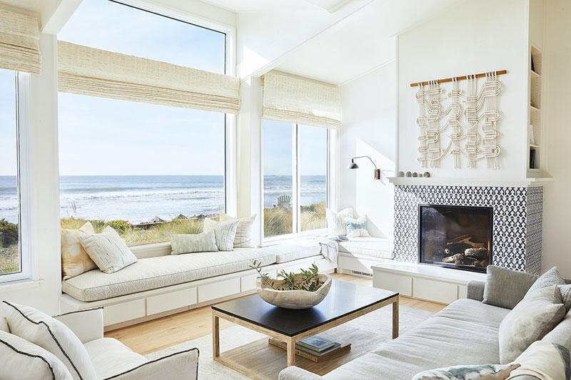 дома с видом на океан