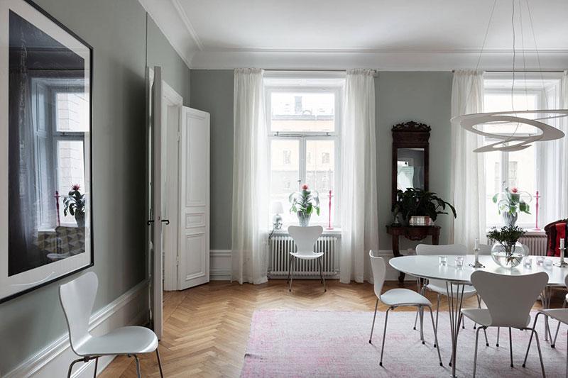 интерьер квартиры в стокгольме фото