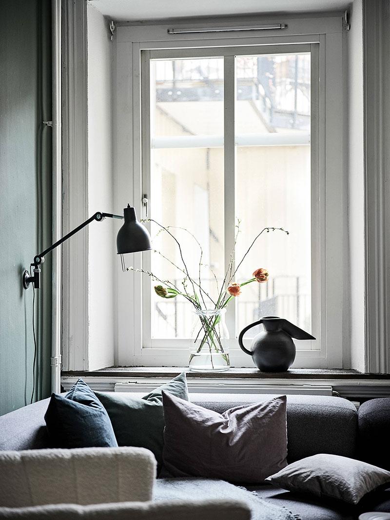 фото интерьеров квартир в зеленых цветах