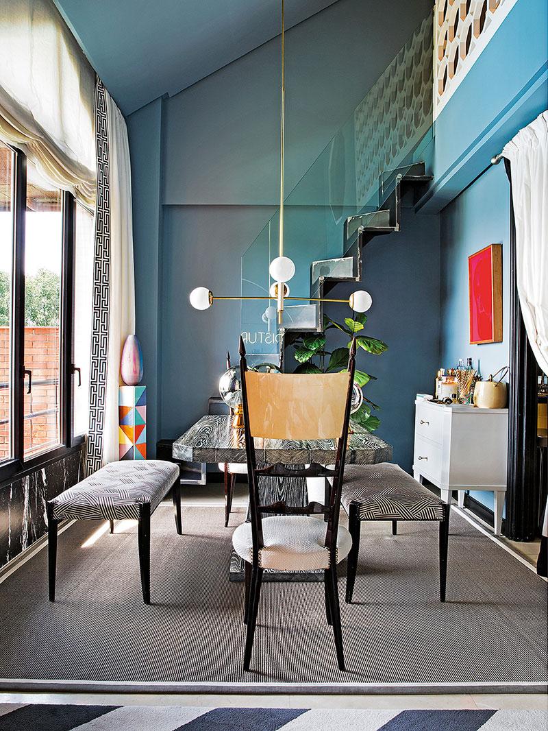 антресоль в интерьере квартиры