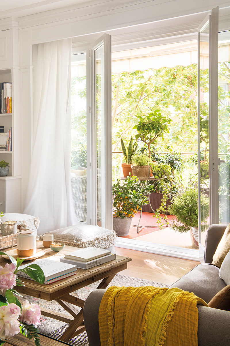 интерьер в квартире в барселоне
