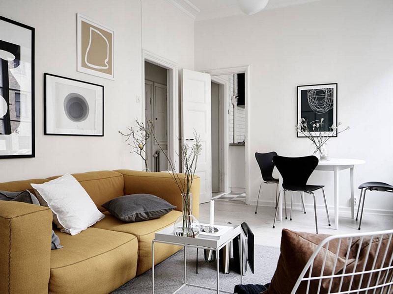 лучшие интерьеры квартир в скандинавском стиле