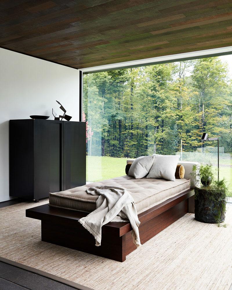 фото дома со стеклянной стеной