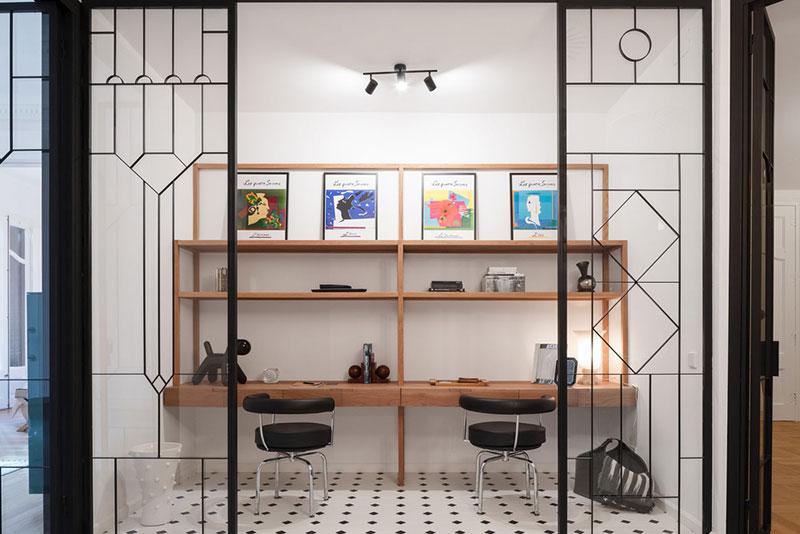 интерьер в стиле модернизма