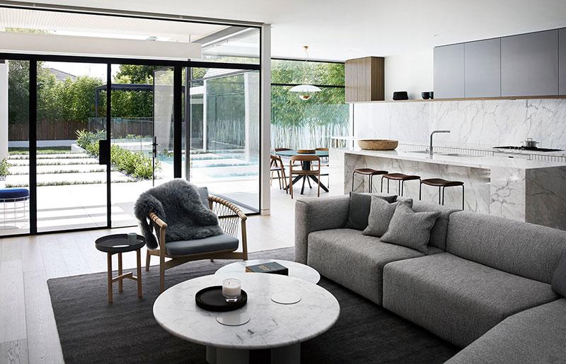 современные стильные дома интерьер