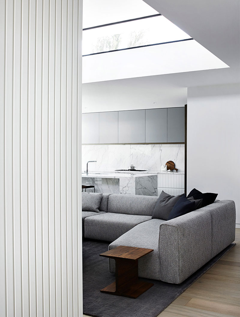 современный стильный интерьер дома