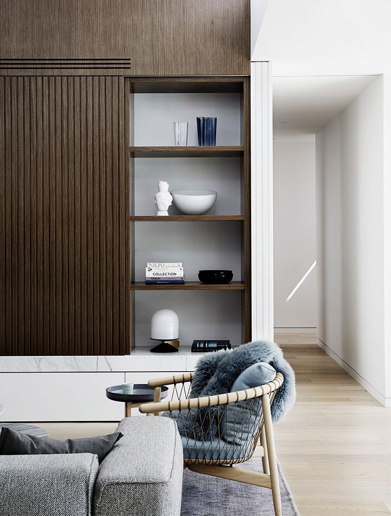 стильные интерьеры в современном стиле домов