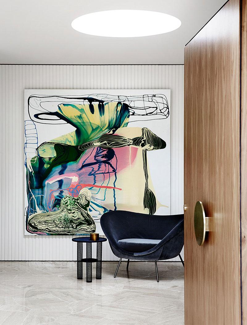 стильные современные интерьеры частных домов