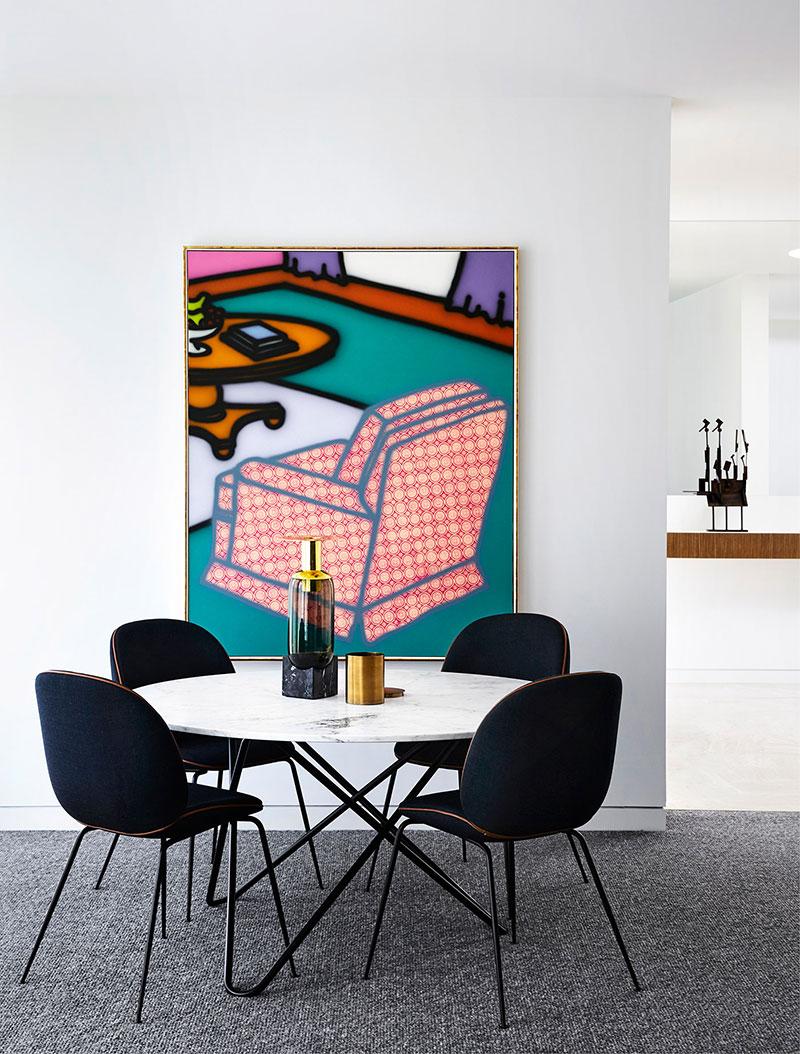 стильные интерьеры домов в современном стиле