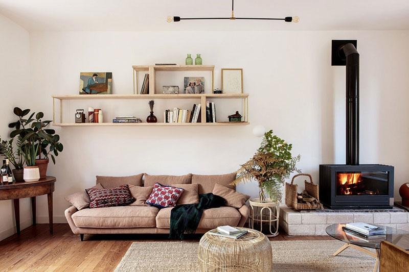 уютные интерьеры домов фото
