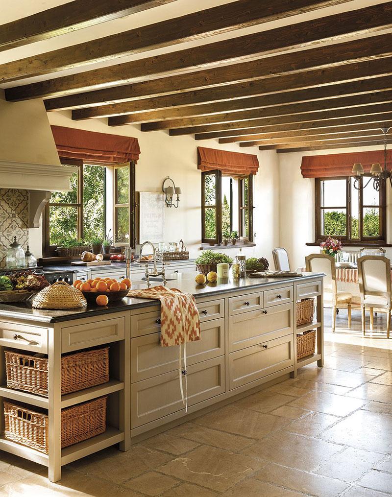 интерьер в испанском стиле в доме