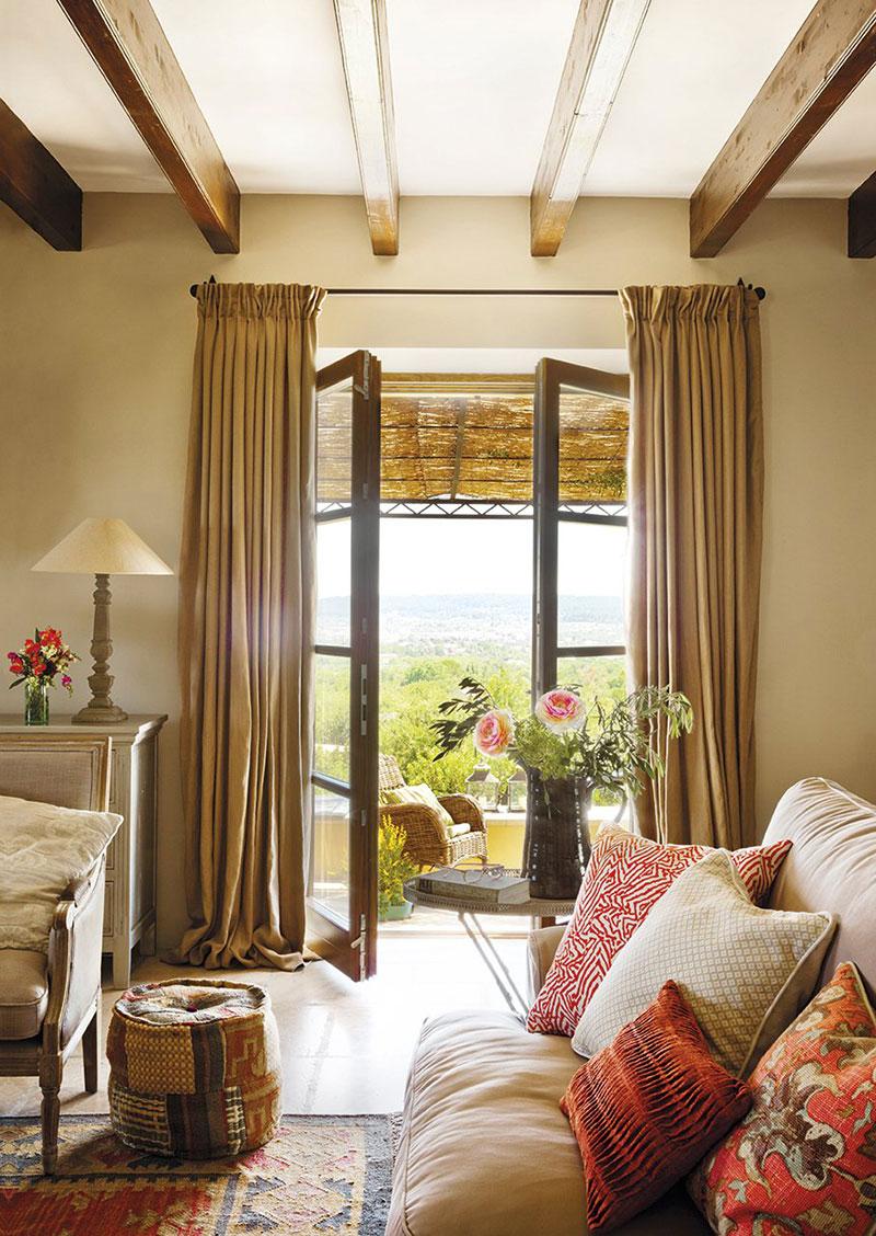 интерьеры домов в испанском стиле