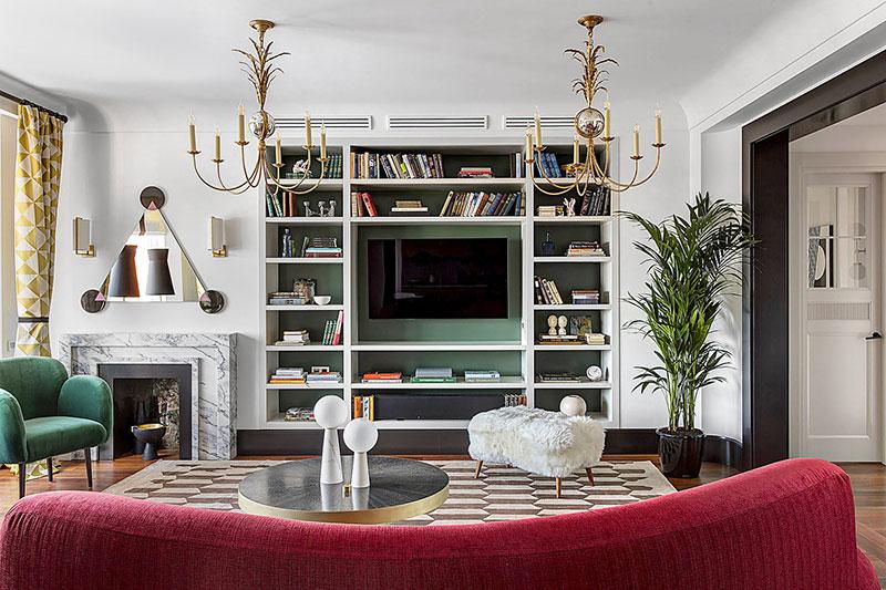стиль эклектика в интерьере квартиры фото