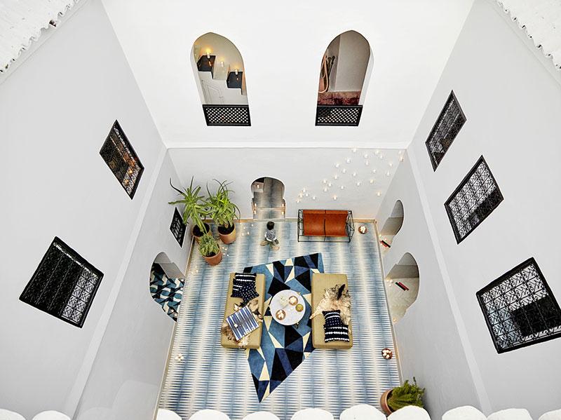 интерьер домов в марокко