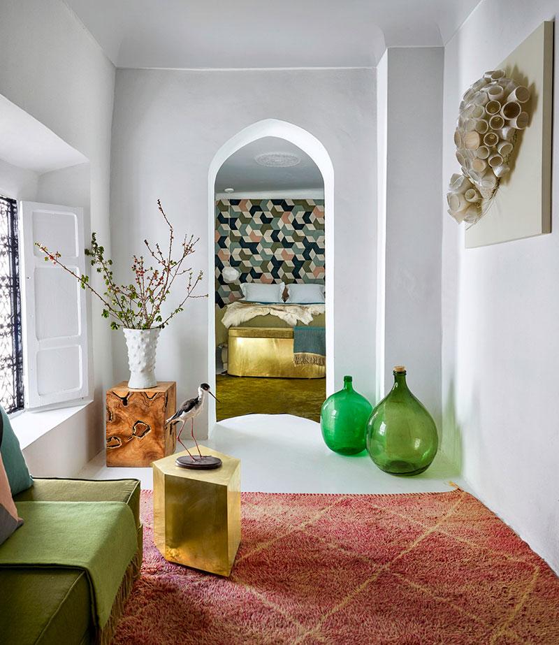 дом интерьер в марокко