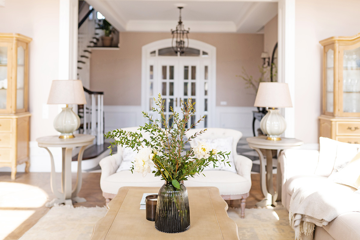 дизайн ванной комнаты в классическом стиле в доме