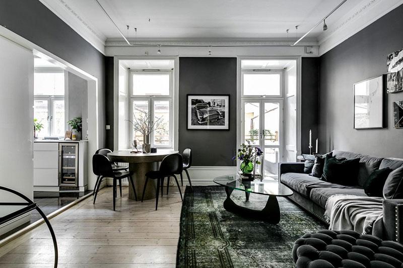 швеция интерьеры квартир