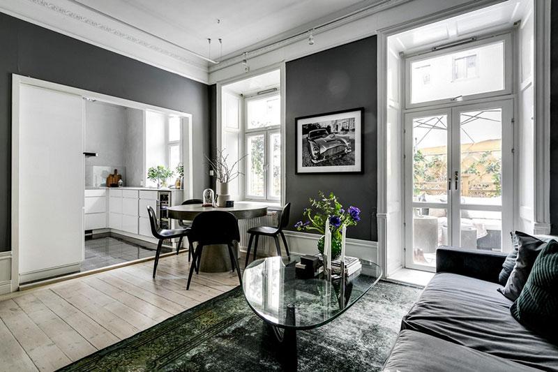 интерьеры квартир швеция