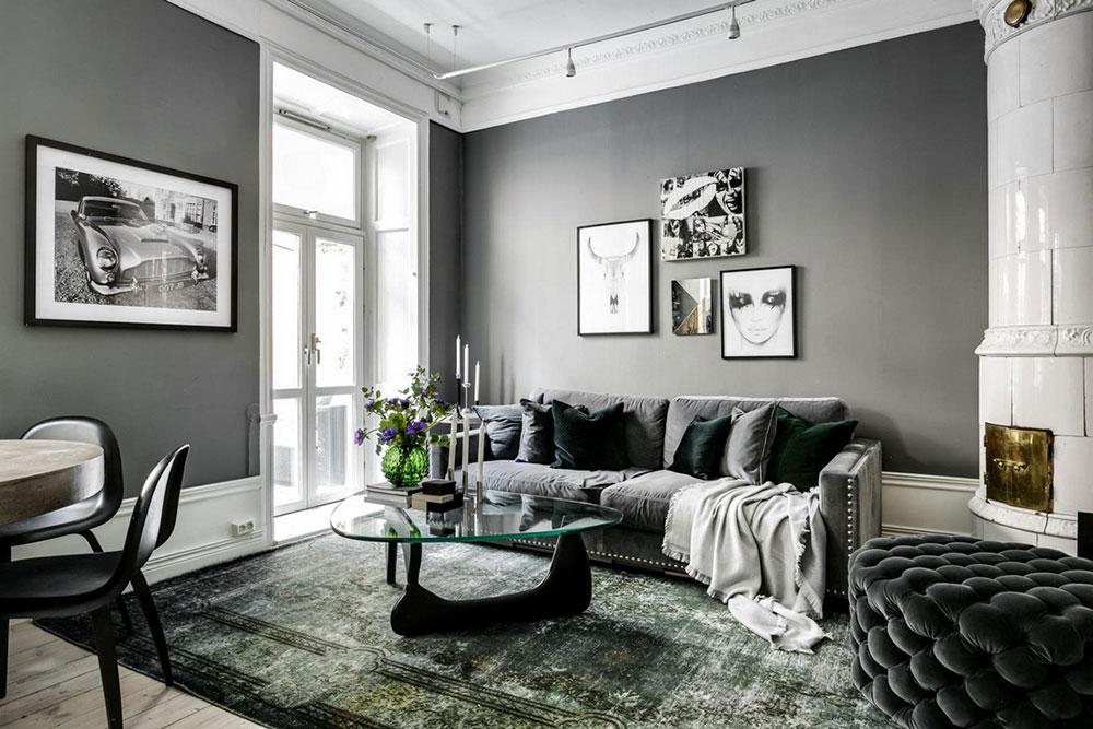 атмосферный интерьер квартиры
