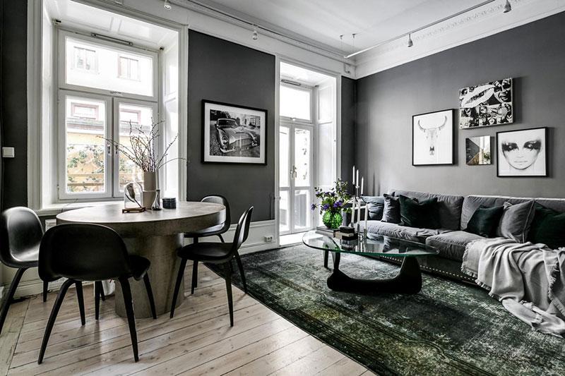 интерьеры квартир в швеции
