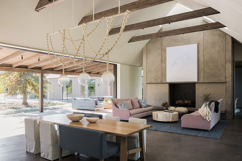дизайн дома в виноградниках