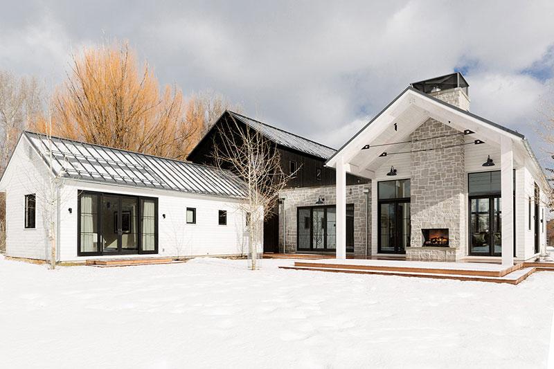 американский стиль интерьера загородного дома