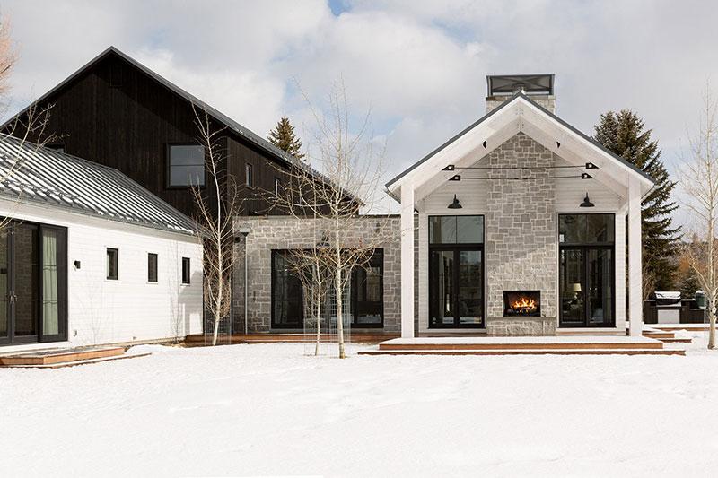 интерьер загородный дом в американском стиле