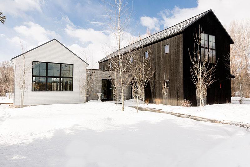 интерьеры загородного дома в американском стиле
