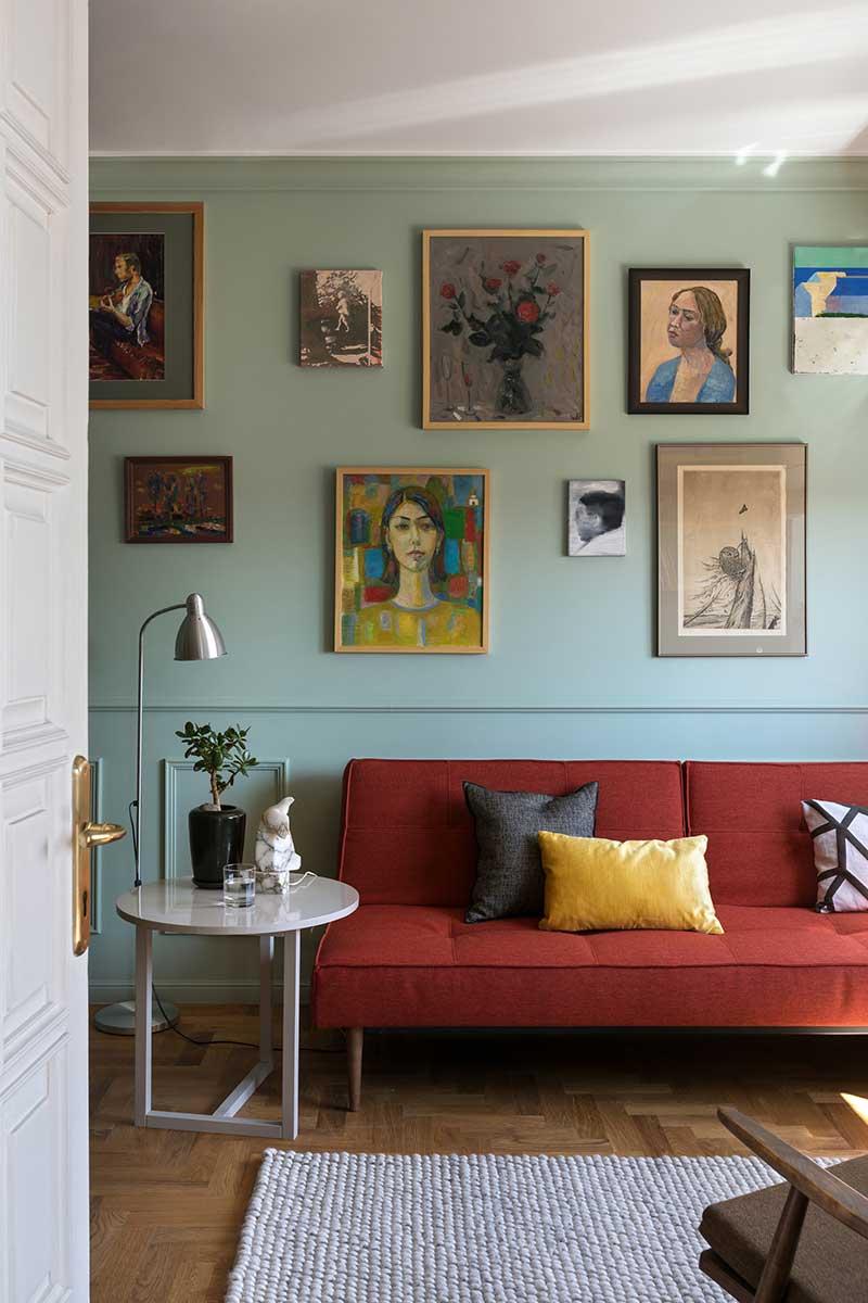 ретро стиль в интерьере квартиры