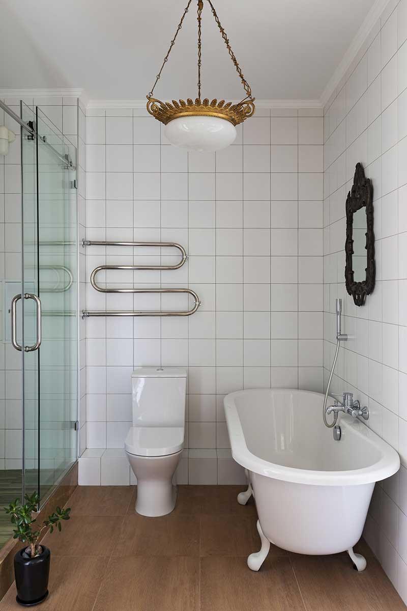 ретро дизайн интерьера квартиры