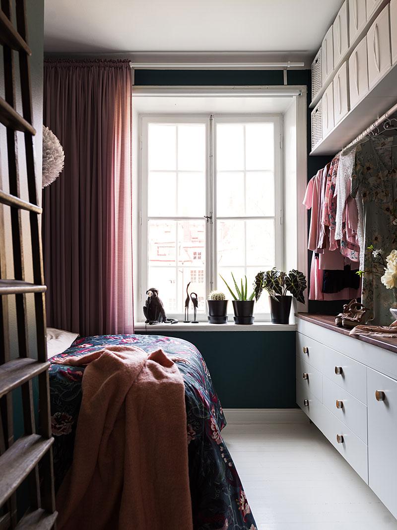 Класс! Необычная мансардная квартира с балконом и террасой в Стокгольме (75 кв. м)