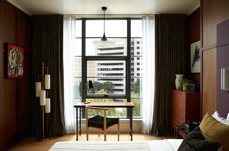 интерьеры отелей в американском стиле