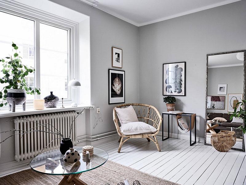 интерьер однокомнатной квартиры для молодой девушки