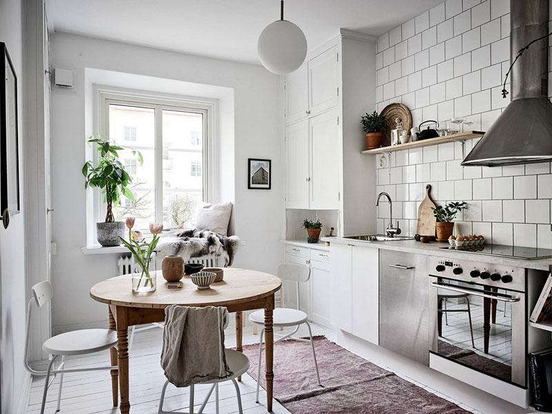 дизайн интерьера однокомнатной квартиры для девушки